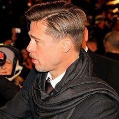 Cool Haircuts, Hairstyles Haircuts, Haircuts For Men, Hair Cut Guide, Brad Pitt Haircut, Hans Landa, Hair Trends 2015, Hair Evolution, Christoph Waltz