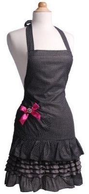 "16 Best-Selling ""Little Black Aprons"" ... for Brides & Bridesmaids ~ Sugar 'n Spice"