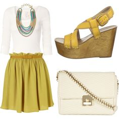I love everything about this... cute way to accessorize the Zahara Bib Necklace from Stella & Dot stelladot.com/laine