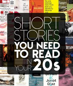 29 Short Stories You Need To Read In Your Twenties.  Best thing on Buzzfeed yet.  It not only tells you what to read, but gives you links to almost al of them for free.