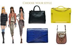 Leather bags in wide range of colours, sizes and style @WildInga