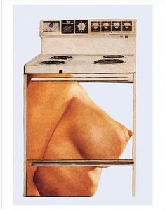 Hot Meat Kitchen Martha Rosler, from The Age of Collage Vol. Collages, Collage Art, Modern History, Art History, Keiichi Tanaami, Matthieu Bourel, Atelier Photo, Whole Image, Feminist Art