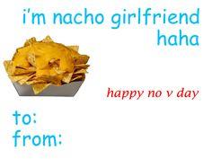 Funny Valentine Card AntiValentine Card Singles by RowHouse14