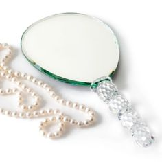 Crystal Hand Mirror from Z Gallerie