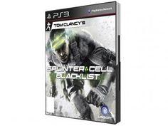 Tom Clancys Splinter Cell Blacklist para PS3 - Ubisoft