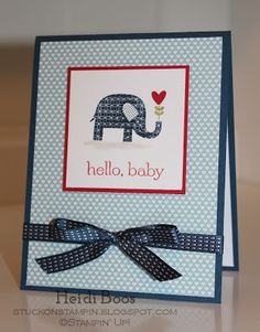 Stuck on Stampin' ..  Patterned Occasions
