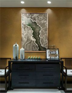 Elusive new Chinese modern painting decorative painting mood wine . Asian Interior Design, Chinese Interior, Interior Design Inspiration, Asian Furniture, Chinese Furniture, Furniture Design, New Chinese, Chinese Style, Chinese Element