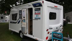 Coachman Vision 380 - Practical Caravan Camping Trailer For Sale, Window Fitting, Caravans For Sale, Small Campers, Flush Toilet, Front Windows, Roof Light, Small Shelves