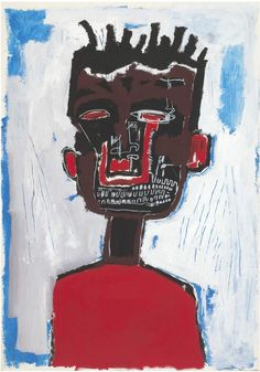 'Autorretrato'Basquiat .More Pins Like This At FOSTERGINGER @ Pinterest