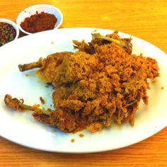 Ayam Goreng Suhati restaurant @ Bandung, Indonesia