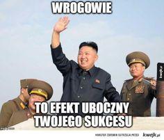 Kim Dzong Un człowiek sukcesu Httyd, Good Mood, Best Memes, Einstein, Haha, Entertainment, Fantasy, Humor, Funny