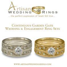 unique artisan wedding rings - Artisan Wedding Rings