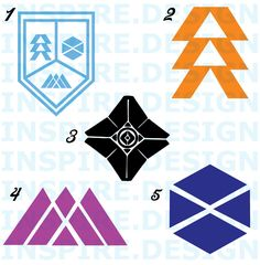 Destiny 2 Logos by InspireDesignGFX on Etsy