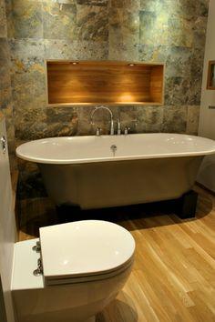 muurtegel badkamer gemeleerd. Combineren met licht houten keramische tegel?