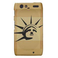 Lady Liberty Droid RAZR Cover #StatueOfLiberty #Statue #Liberty #Freedom #Mobile #Phone #Motorola #Case #Cover #Stars