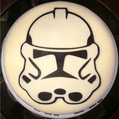 Storm Trooper Birthday Cake by The Accidental Scrapbook
