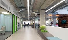 The Climate Corporation | O+A - clean: floors, lighting, open