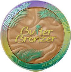 Physicians Formula Butter Bronzer Murumuru Butter Bronzer is an ultra-luxurious bronzer infused with Murumuru Butter, delivering a radiant Brazilian goddess glow!