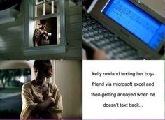 Stage twelve: Finding comfort in Kelly Rowland.