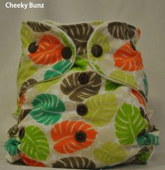 One Size All-in-Two Cloth Diaper. $22.95, via Etsy.