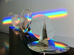 Work by Stepan Pala.  Rainbows by Vaclav Cigler.