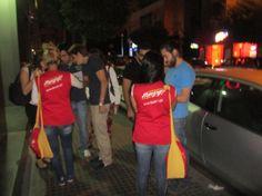 Rocket activation (Gemayze - Mar Mikhael nightlife district)