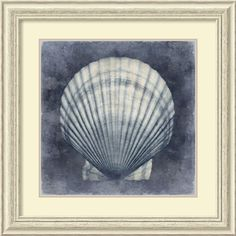 'Ocean Blue II' by Caroline Kelly Framed Art Print