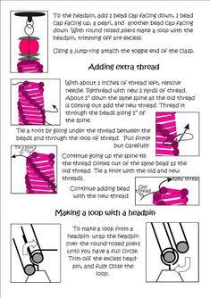 Bead Mavens: Tutorial Helix Spiral