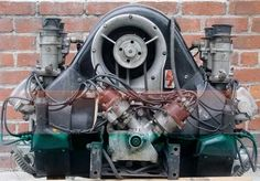 """Type 547 engine """"four cam"""" Carrera engine used in the Porsche 550 """"Spyder"""", the Porsche 356 Carrera, and the Porsche 904"""