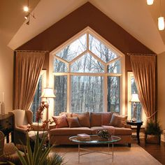 Living Room Arch Window Treatments Design, Pictures, Remodel, Decor and Ideas - page 234