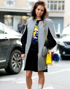 Paris-Streetstyle von den Haute Couture Schauen F/S 2014