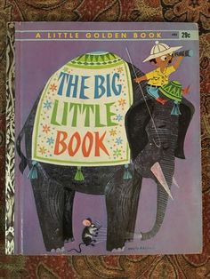The Big Little Book 1962 A Edition