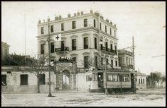 Ναυτικό Νοσοκομείο Πειραιά (Ρώσικο). Good Old, Athens, Old Photos, Notre Dame, Street View, Explore, Building, Greek, Travel
