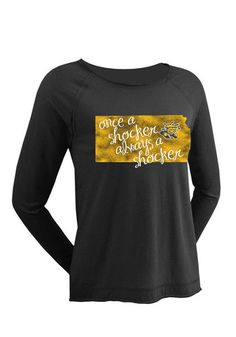 Wichita State Shockers Womens Long Sleeve T-Shirt http://www.rallyhouse.com/wichita-state-shockers-womens-black-mackenzie-ls-tee-16650090?utm_source=pinterest&utm_medium=social&utm_campaign=Pinterest-WSUShockers $47.99