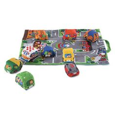 Amazon has the Melissa & Doug Take-Along Town Play Mat marked down from $26.99 to $17.10 and it ships for free with your Prime Membership or any $25 purchase. Activity play mat/storage bag with around-the-town scene and 9 soft vehicles Mat features bright colors and non-skid backing Vehicles make crinkling, squeaking, or rattle noises Durable…