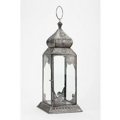 Delicate Etched Lantern