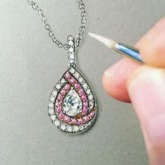 Wonderful #diamondsimulant #sterlingsilver #18karatgoldplated and #rhodiumplated #pendant enhancer. #jtvjewelry #jtvjewelrylove #jewelryartist #jtv RRB202