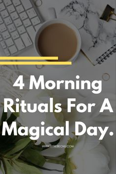 Morning rituals and habits are for succesful people. Implement these morning rituals and morning routines to your daily life for a wellbeing, joy and incredible success. Daily morning routine ideas and rituals. Some are a bit witchy, but yet so powerful! + bonus vegan chaga mushroom latte recipe