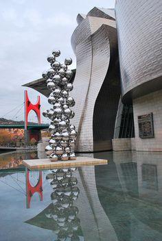 Guggenheim Bilbao #Bilbao, #Bizkaia  #Spain