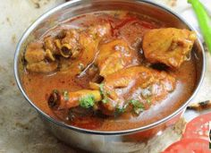 Saoji chicken curry is a traditional food of Nagpur, Maharashtra. The cuisine al… Saoji chicken curry is a traditional food of Nagpur, Maharashtra. The cuisine also called Saoji Waradi is famous for its spicy taste. Veg Recipes, Curry Recipes, Indian Food Recipes, Asian Recipes, Chicken Recipes, Cooking Recipes, Recipies, Chicken Curry, Chicken Leg Curry Recipe