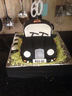 Uncles 60th black cab cake