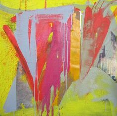 "Saatchi Art Artist Diana Delgado; Painting, ""Smelly Yellow"" #art"