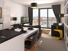 Condo Interior Design or small Apartment Interior Ideas - design