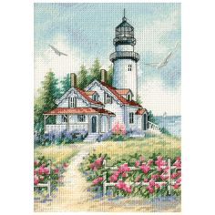 Gorgeous images; phenomenal detail and the highest quality of materials available go into every Gold Collection kit by Dimensions. Each of these counted cross stitch kits feature easy to follow charts that include the use of half stitches.