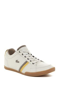 Rayford Leather & Suede Lace-Up Sneaker