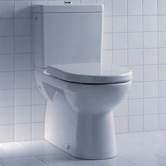 The Laufen Pro toilet features a fully back to wall design for a neater finish