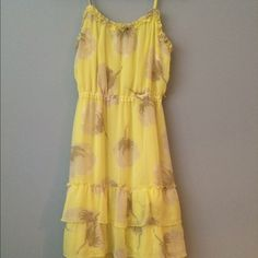 c00005b80edaa Yellow spring dress Sweet spring dress from Old Navy. Perfect for Mother's  Day Brunch. 💛 Old Navy Dresses Midi