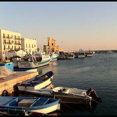 Gallipoli Harbor, sunset (Pris avec Instagram à Porto di Gallipoli)