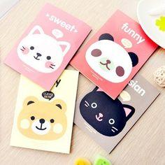 10pcs/lot Cute Animal A6 Notebook Kawaii School Supplies Stationery 12.5*9cm wholesale Free shipping 113 Aliexpress US $9.54 / lot