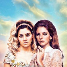 Girls, Marina and the Diamonds, Lana Del Rey